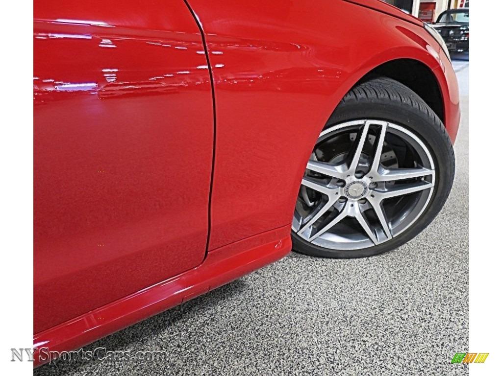 2016 E 400 Cabriolet - Mars Red / Natural Beige/Black photo #11
