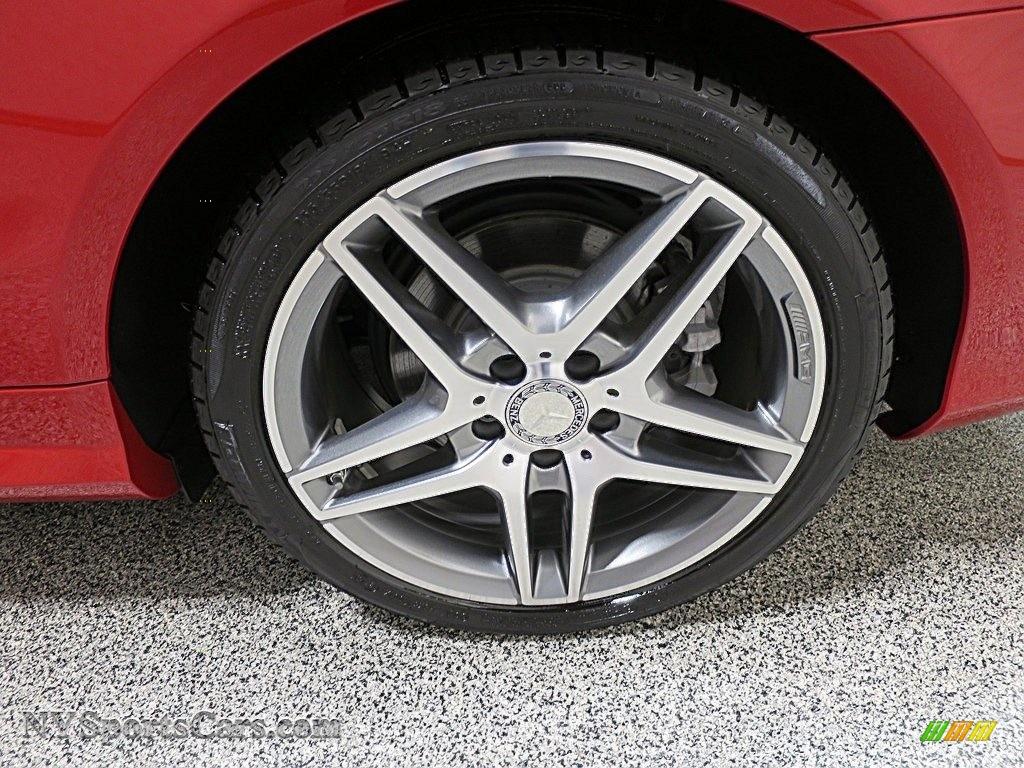 2016 E 400 Cabriolet - Mars Red / Natural Beige/Black photo #12