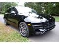 Porsche Macan Turbo Black photo #1