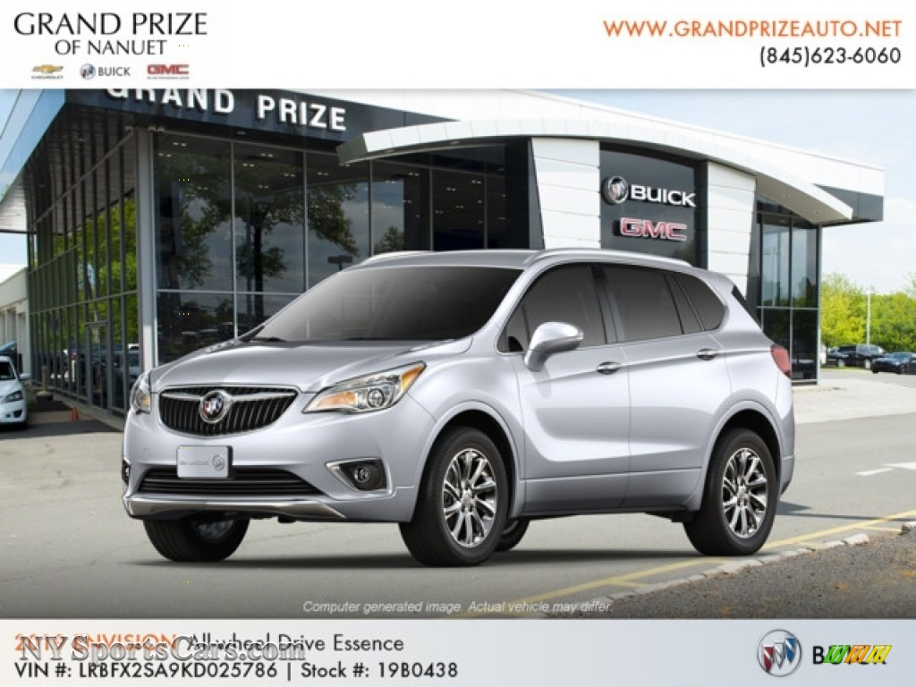 2019 Envision Essence AWD - Galaxy Silver Metallic / Ebony photo #1