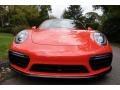 Porsche 911 Turbo S Coupe Lava Orange photo #10
