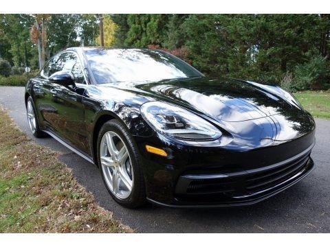 Black 2018 Porsche Panamera 4S