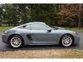 Porsche 718 Cayman  Graphite Blue Metallic photo #7