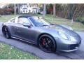 Porsche 911 Targa 4S Agate Grey Metallic photo #8