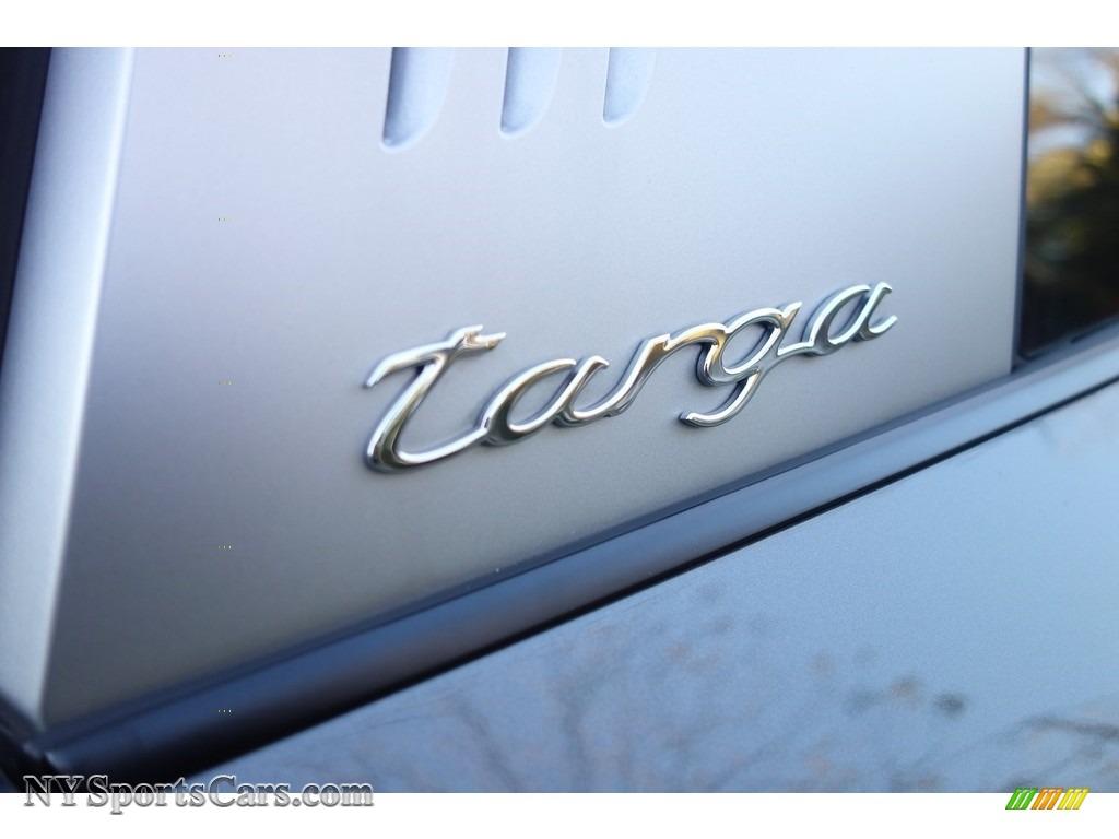 2017 911 Targa 4S - Agate Grey Metallic / Black/Bordeaux Red photo #9