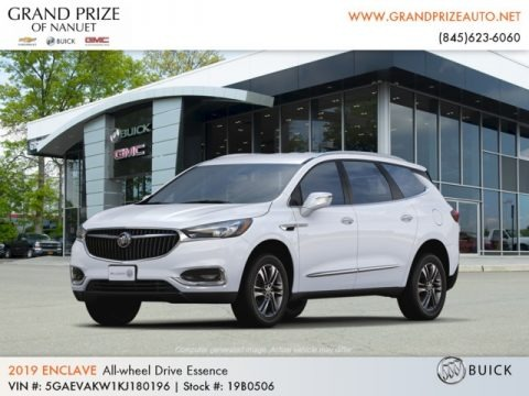 Summit White 2019 Buick Enclave Essence AWD
