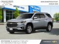 Chevrolet Traverse LT AWD Satin Steel Metallic photo #2