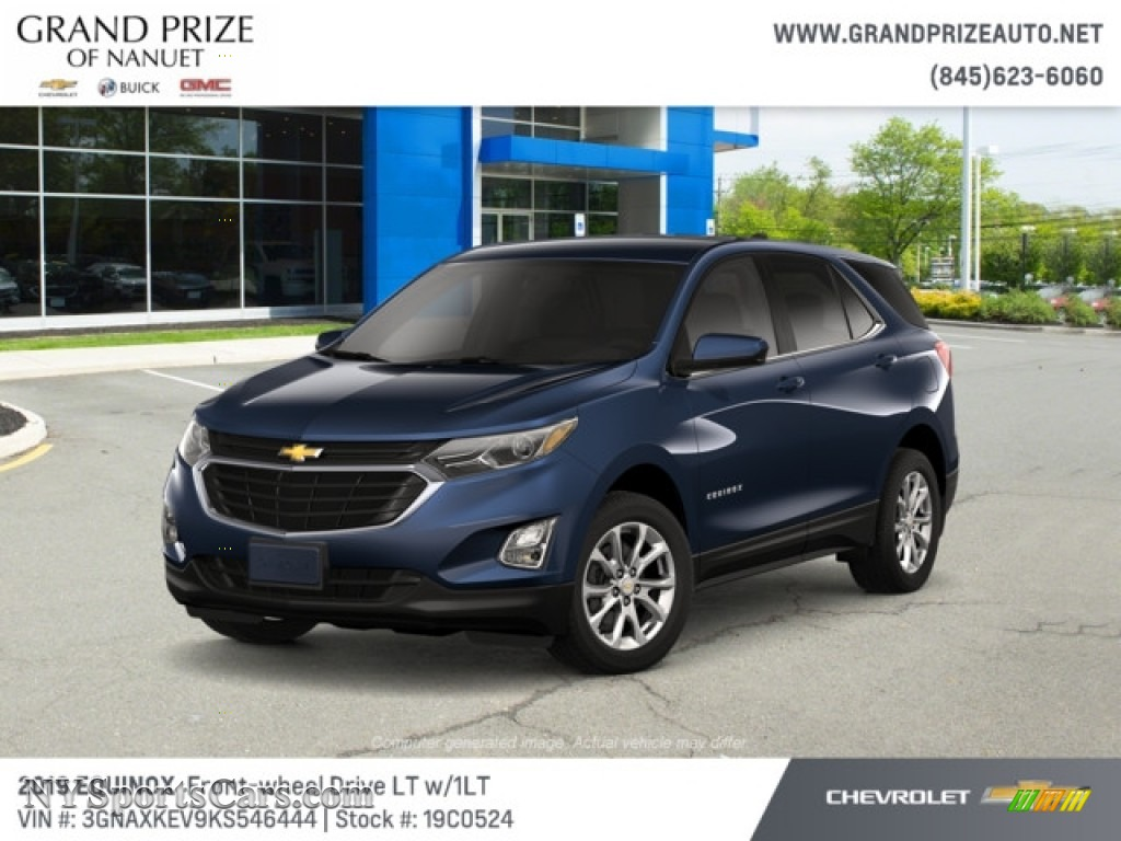 2019 Equinox LT - Storm Blue Metallic / Jet Black photo #1