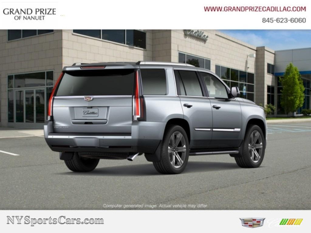 2019 Escalade Luxury 4WD - Satin Steel Metallic / Jet Black photo #6