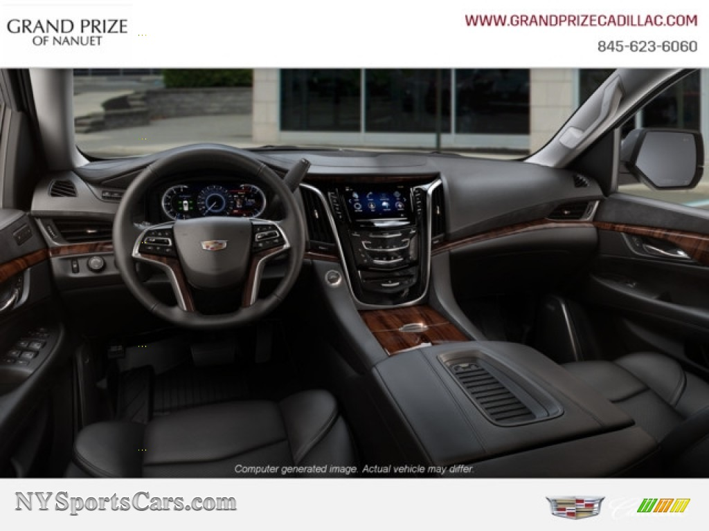 2019 Escalade Luxury 4WD - Satin Steel Metallic / Jet Black photo #8