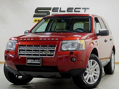 Rimini Red Metallic 2008 Land Rover LR2 SE
