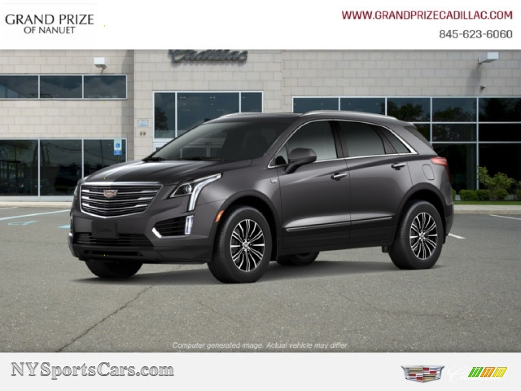 Dark Granite Metallic / Jet Black Cadillac XT5 Luxury AWD