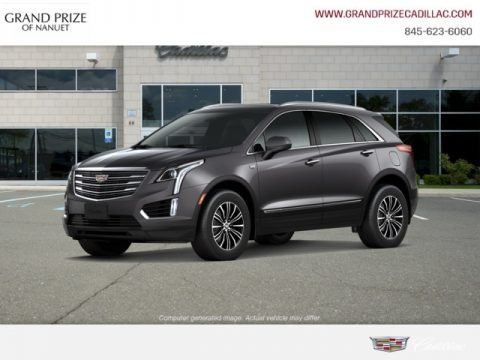 Dark Granite Metallic 2019 Cadillac XT5 Luxury AWD