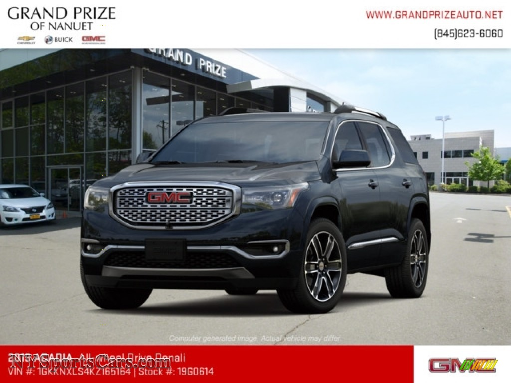 2019 Acadia Denali AWD - Ebony Twilight Metallic / Jet Black photo #1