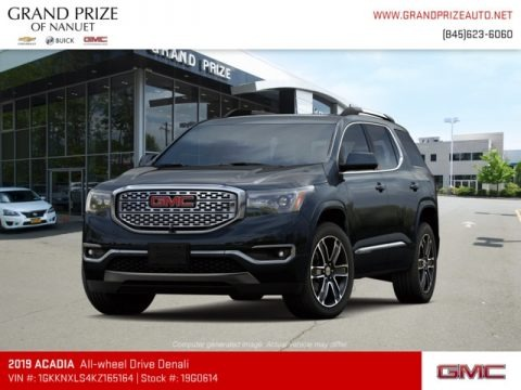 Ebony Twilight Metallic 2019 GMC Acadia Denali AWD