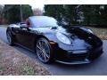 Porsche 911 Turbo Cabriolet Black photo #1