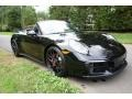 Porsche 911 Carrera GTS Cabriolet Black photo #1