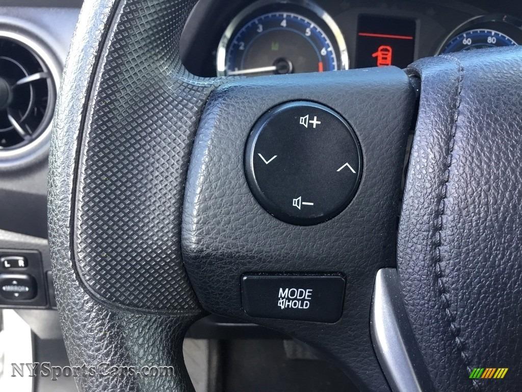 2017 Corolla LE - Falcon Gray Metallic / Ash Gray photo #16