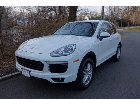 White 2016 Porsche Cayenne