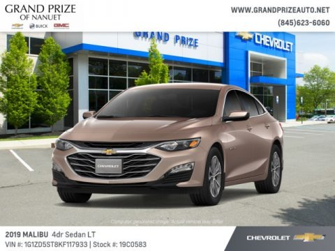 Sandy Ridge Metallic 2019 Chevrolet Malibu LT