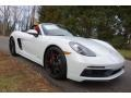 Porsche 718 Boxster GTS White photo #1
