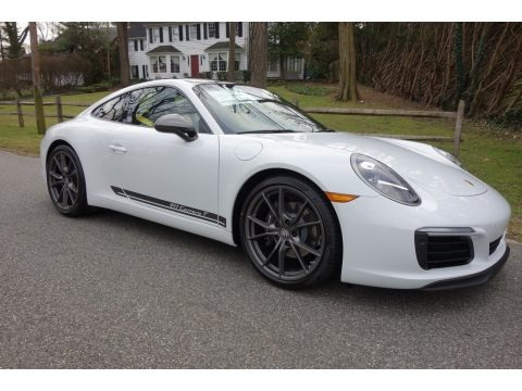 White 2019 Porsche 911 Carrera T Coupe