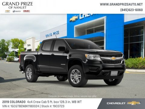 Black 2019 Chevrolet Colorado WT Crew Cab 4x4