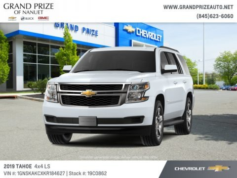 Summit White 2019 Chevrolet Tahoe LS 4WD