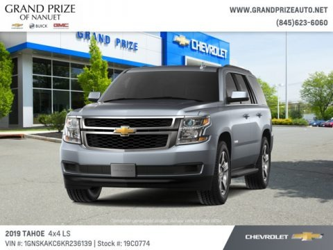 Satin Steel Metallic 2019 Chevrolet Tahoe LS 4WD