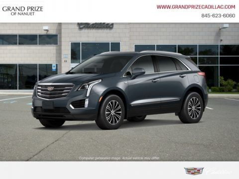 Shadow Metallic 2019 Cadillac XT5 Luxury AWD