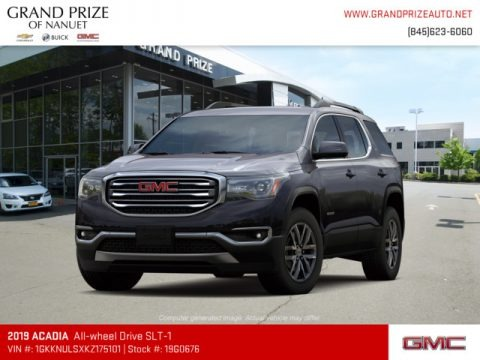 Iridium Metallic 2019 GMC Acadia SLT AWD