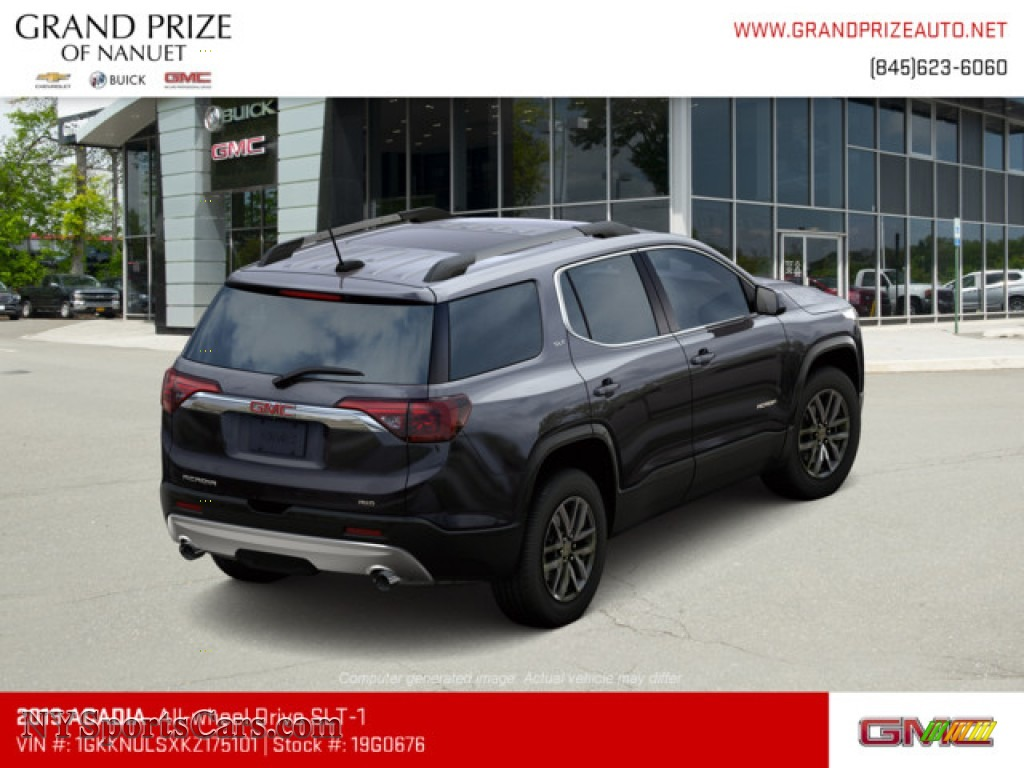 2019 Acadia SLT AWD - Iridium Metallic / Jet Black photo #3