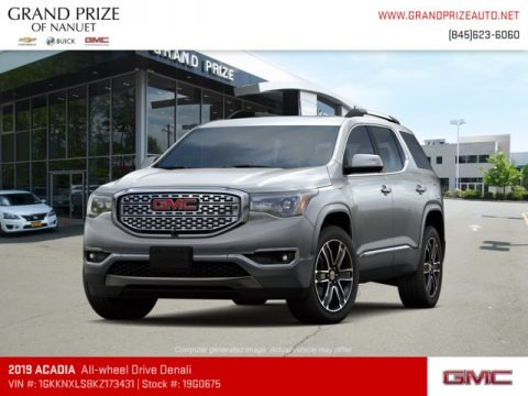 Quicksilver Metallic 2019 GMC Acadia Denali AWD