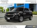 Chevrolet Traverse LS AWD Mosaic Black Metallic photo #1