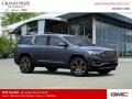 GMC Acadia Denali AWD Blue Steel Metallic photo #4