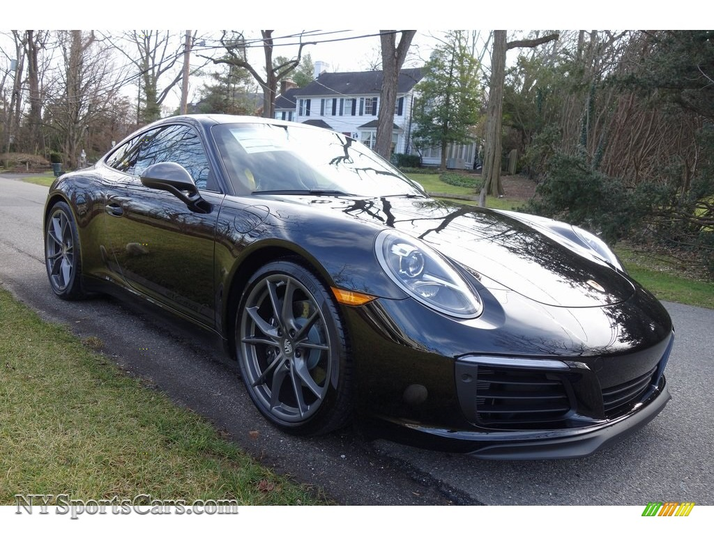 2019 911 Carrera T Coupe - Black / Black photo #1