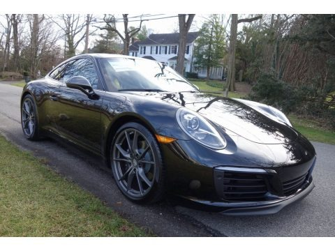 Black 2019 Porsche 911 Carrera T Coupe