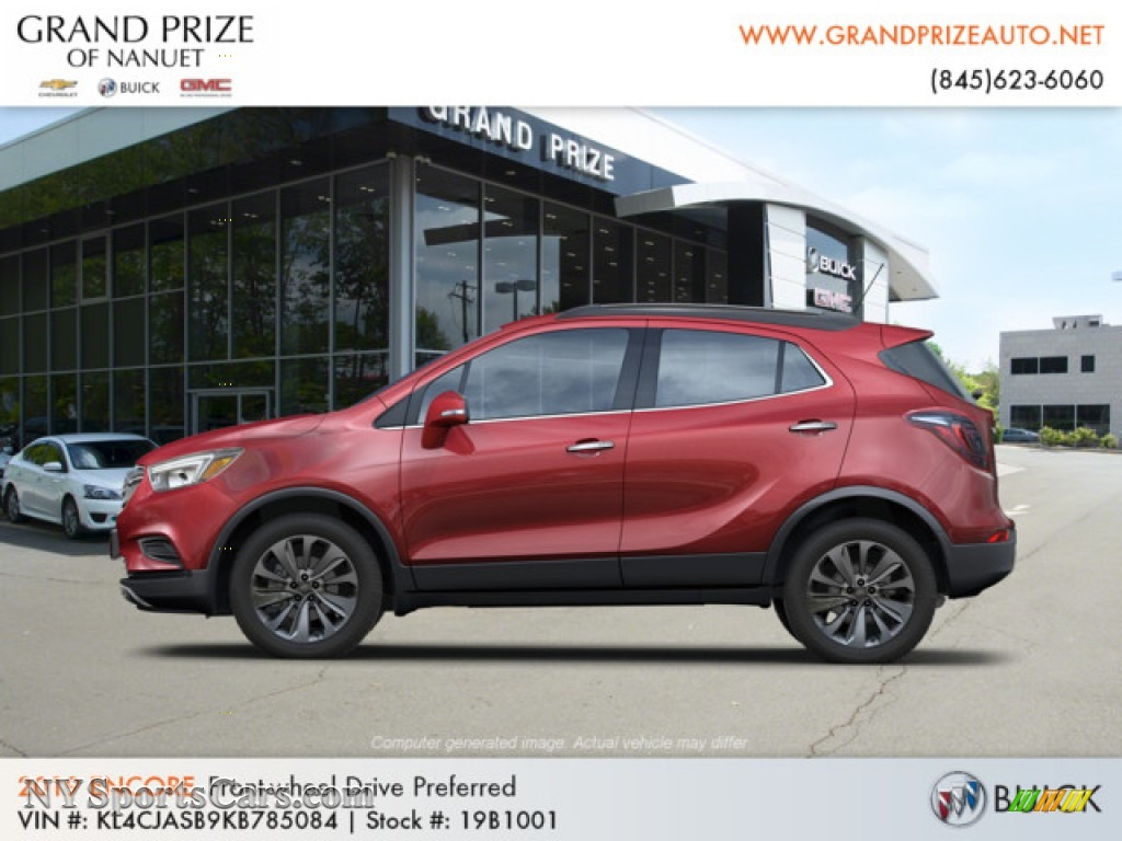 2019 Encore Preferred - Winterberry Red Metallic / Ebony photo #2
