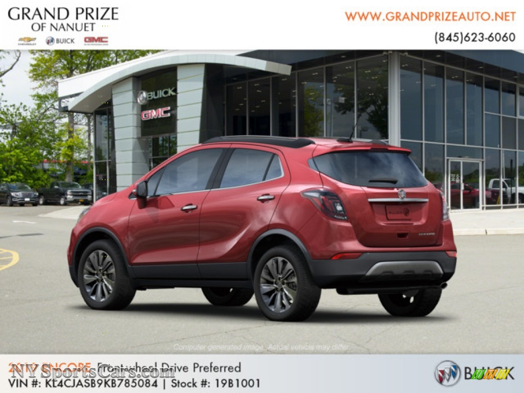 2019 Encore Preferred - Winterberry Red Metallic / Ebony photo #3