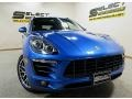 Porsche Macan S Sapphire Blue Metallic photo #10