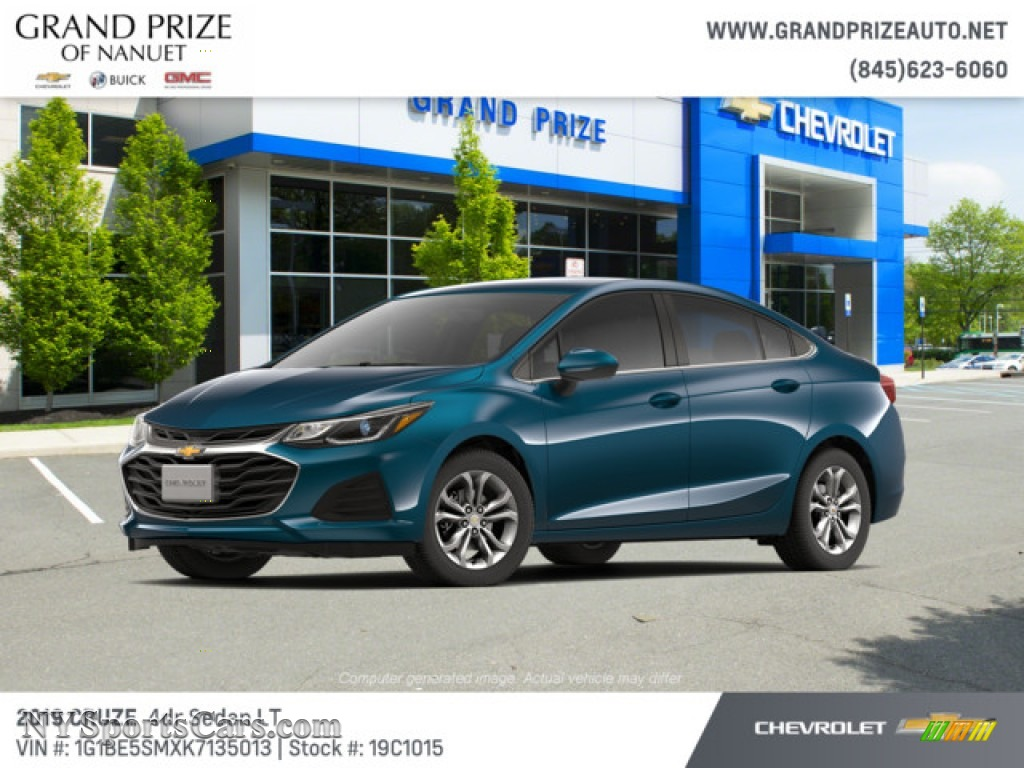 2019 Cruze LT - Pacific Blue Metallic / Jet Black/­Galvanized photo #1