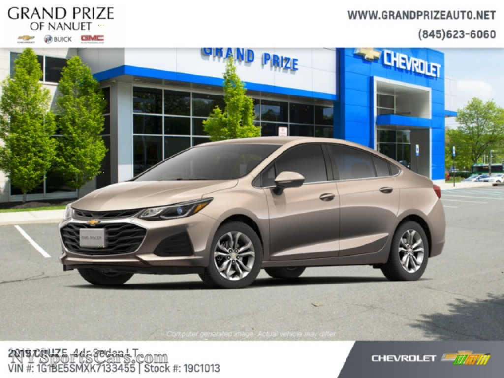 Pepperdust Metallic / Jet Black/­Galvanized Chevrolet Cruze LT