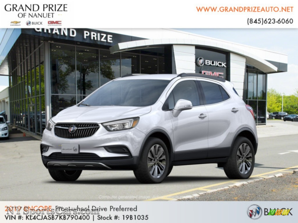 2019 Encore Preferred - Summit White / Ebony photo #1