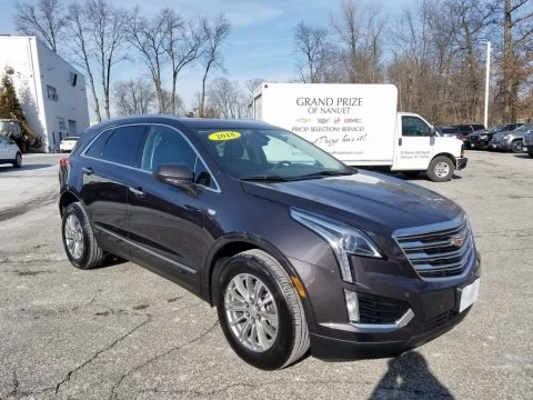 Dark Granite Metallic 2018 Cadillac XT5 Luxury AWD