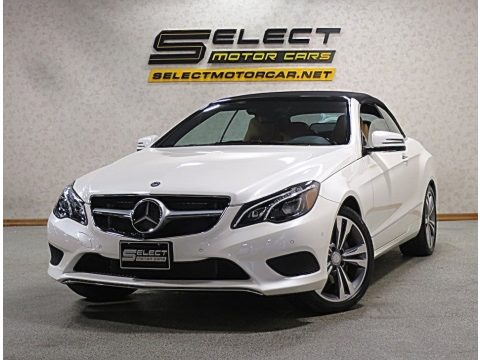 designo Diamond White Metallic 2017 Mercedes-Benz E 400 Cabriolet
