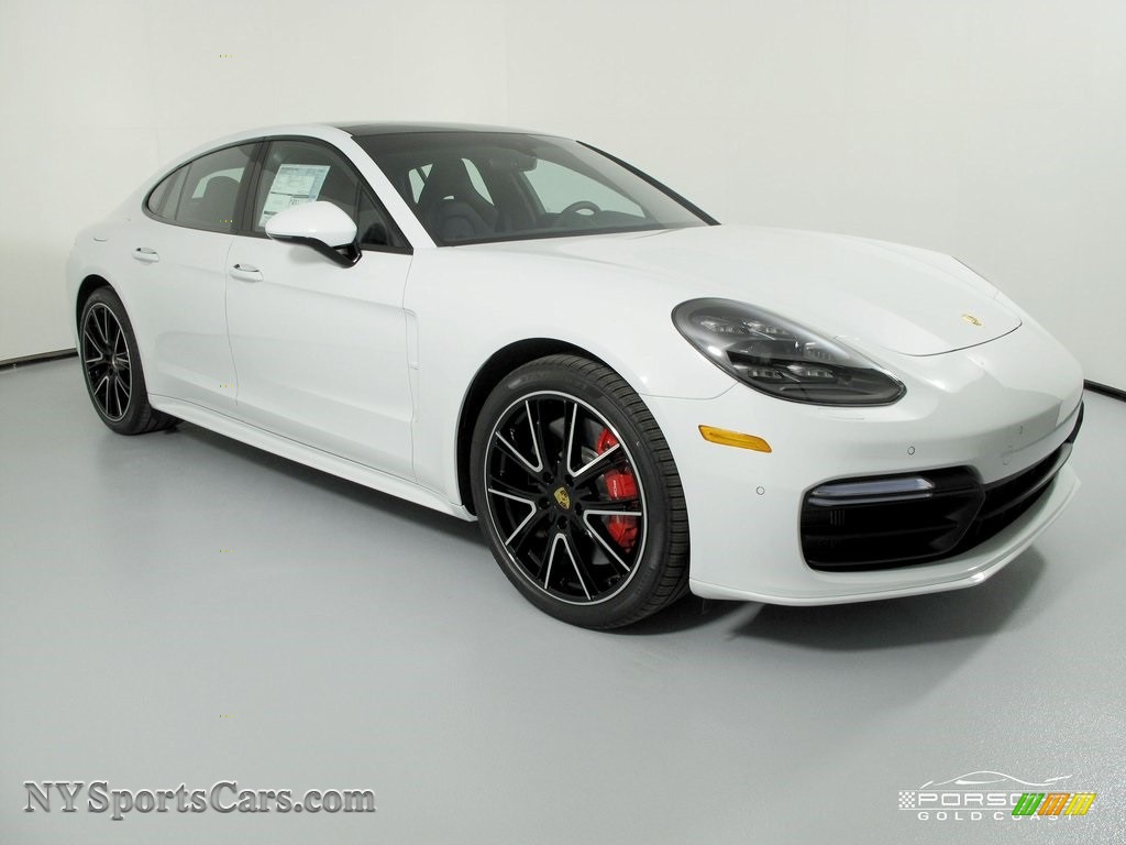 White / Black Porsche Panamera Turbo