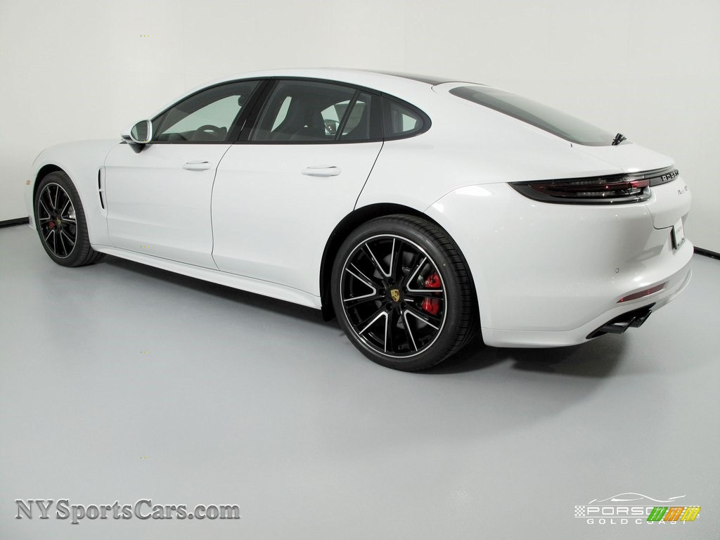 2018 Panamera Turbo - White / Black photo #5