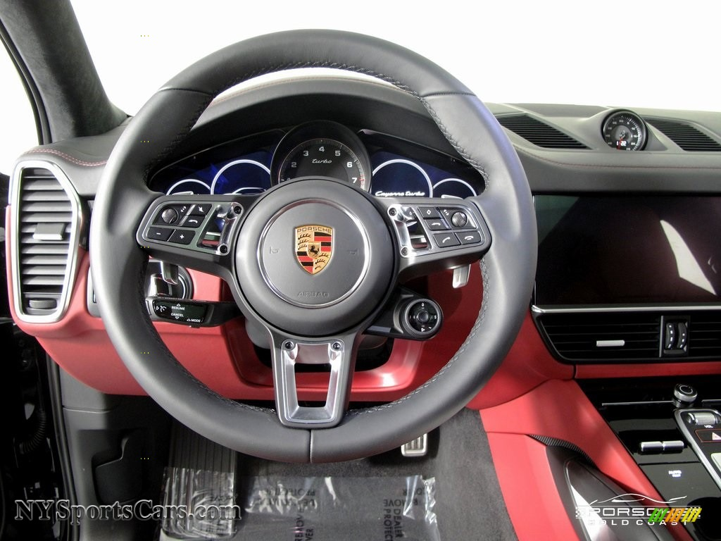 2019 Porsche Cayenne Turbo In Black Photo 13 A80342 Nysportscars Com Cars For Sale In New York