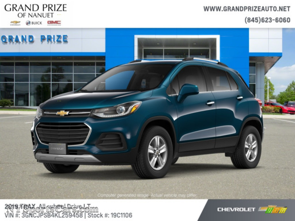 2019 Chevrolet Trax LT AWD in Pacific Blue Metallic photo ...