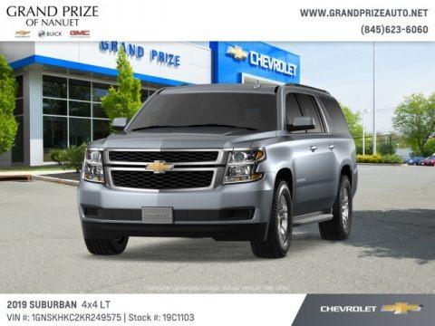 Satin Steel Metallic 2019 Chevrolet Suburban LT 4WD